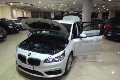 BMW 216d USATO AZIENDALE MATERA BARI 7
