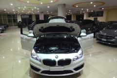 BMW 216d USATO AZIENDALE MATERA BARI 8