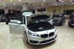 BMW 216d USATO AZIENDALE MATERA BARI 9