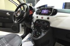 FIAT 500C CABRIO AUTOMATICA USATO AZIENDALE 28
