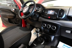 FIAT 500L LIVING 1600 DIESEL AZIENDALE USATA MATERA BARI TARANTO 44