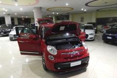 FIAT 500L LIVING 1600 DIESEL AZIENDALE USATA MATERA BARI TARANTO 9