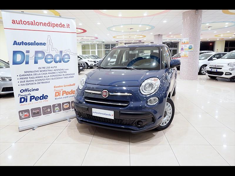 Fiat 500L blu 1