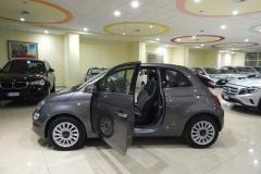 FIAT 500C CABRIO AUTOMATICA USATA MATERA BARI ROMA 14