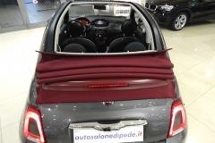 FIAT 500C CABRIO AUTOMATICA USATA MATERA BARI ROMA 24