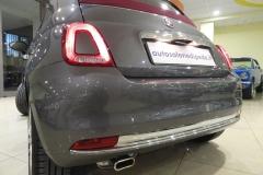 FIAT 500C CABRIO AUTOMATICA USATA MATERA BARI ROMA 32