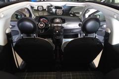 FIAT 500C CABRIO AUTOMATICA USATA MATERA BARI ROMA 41