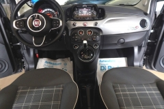 FIAT 500C CABRIO AUTOMATICA USATA MATERA BARI ROMA 42