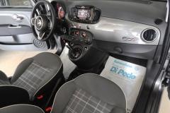 FIAT 500C CABRIO AUTOMATICA USATA MATERA BARI ROMA 43