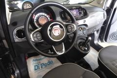 FIAT 500C CABRIO AUTOMATICA USATA MATERA BARI ROMA 44