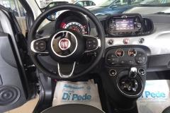 FIAT 500C CABRIO AUTOMATICA USATA MATERA BARI ROMA 45