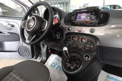 FIAT 500C CABRIO AUTOMATICA USATA MATERA BARI ROMA 46