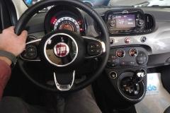 FIAT 500C CABRIO AUTOMATICA USATA MATERA BARI ROMA 48a