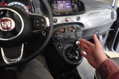 FIAT 500C CABRIO AUTOMATICA USATA MATERA BARI ROMA 48b