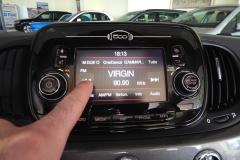 FIAT 500C CABRIO AUTOMATICA USATA MATERA BARI ROMA 53