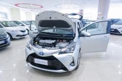 Toyota Yaris Hybrid Usato 7