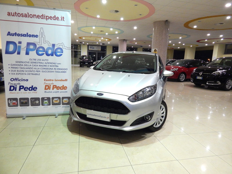 New FORD FIESTA 1.2i Plus