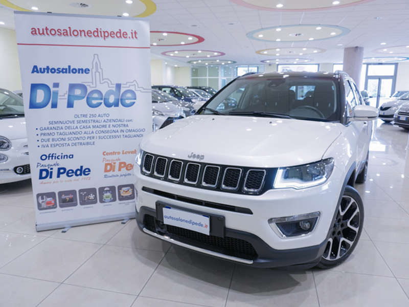 JEEP COMPASS 1.6 MJT2 LIMITED + Packs
