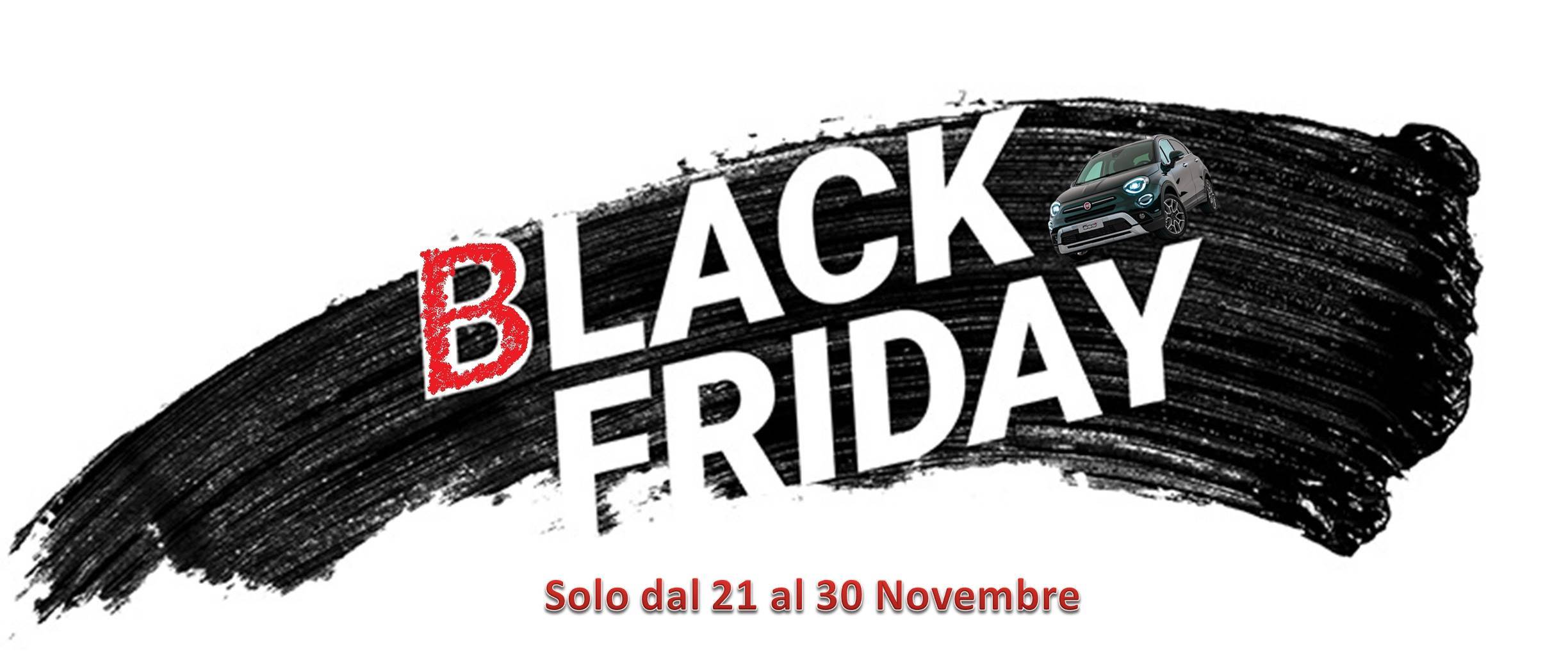BLACK FRIDAY: solo dal 21 al 30 Novembre