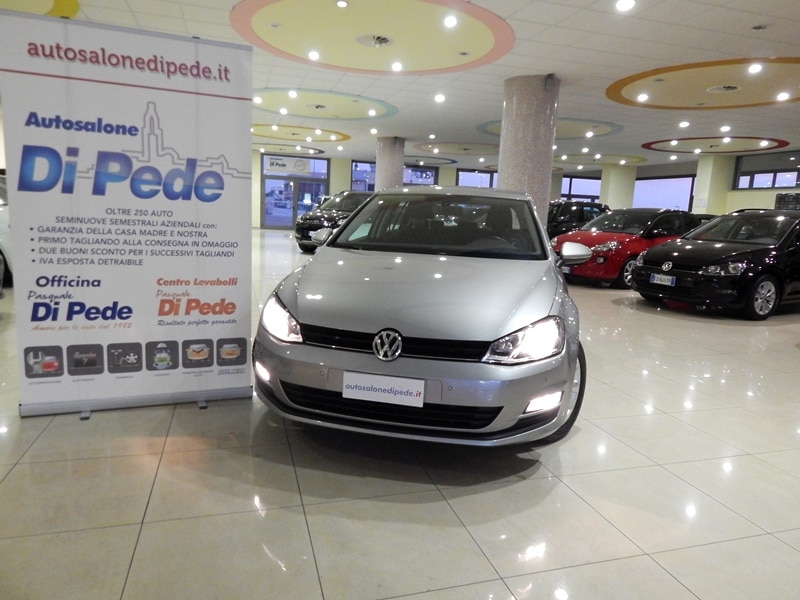 New VOLKSWAGEN GOLF 7    1.6 TDI BlueMOTION Tech Comfortline