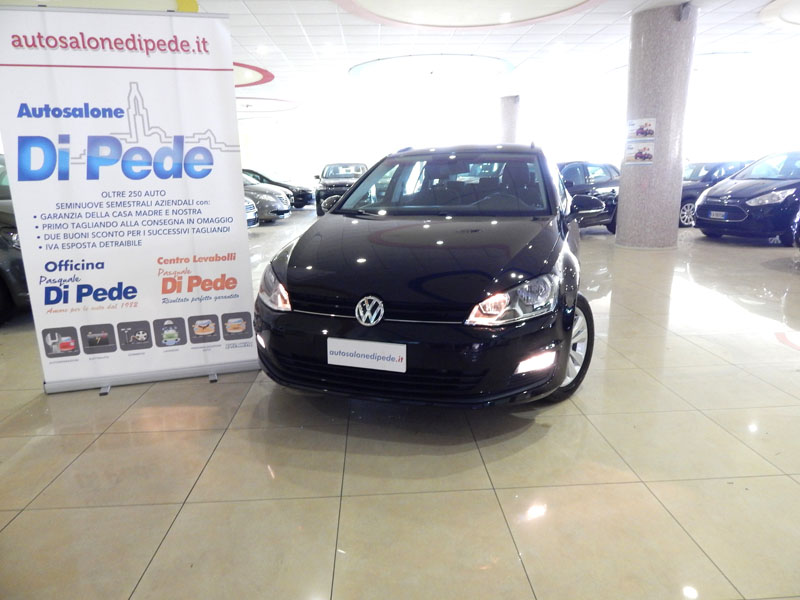Nuova VOLKSWAGEN GOLF 7 SW 1.6 TDI BlueMotionTech Business